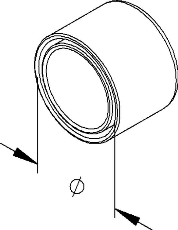 Fintech PVC-Endt/ülle IEC IEE 25 f/ür Steckrohr Endt/ülle f/ür Installationsrohre 4046933000676